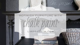 Refinishing Furniture With Chalk Paint® Tutorial