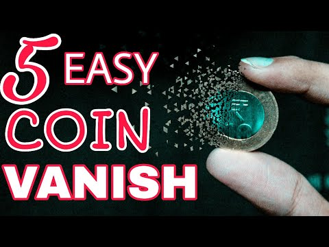 5 BEST Ways To VANISH ANY Coin | Making Impossible