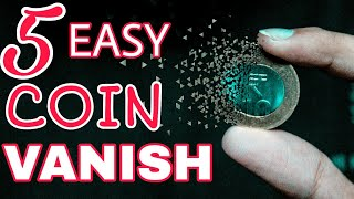 Gambar cover 5 BEST Ways To VANISH ANY Coin | Making Impossible