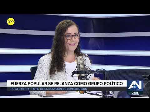 Rosa Bartra defendió el informe de Comisión Lava Jato | ADN 16.04.19