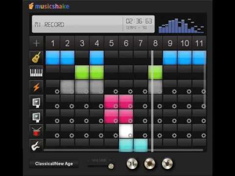 crea musica online con musicshake