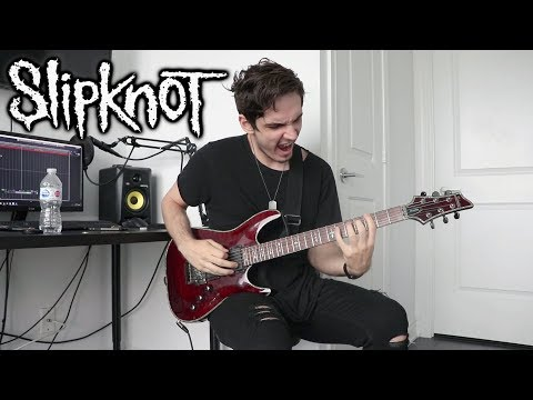 Slipknot | All Out Life | GUITAR COVER (2018)