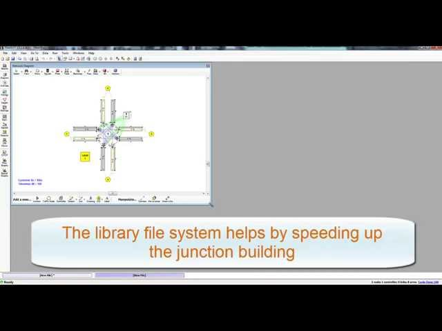 TRANSYT 15 - Single junction modelling
