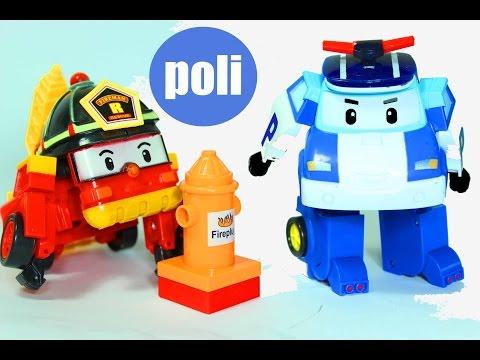 Робокар поли развивающий мультфильм про игрушечные машинки