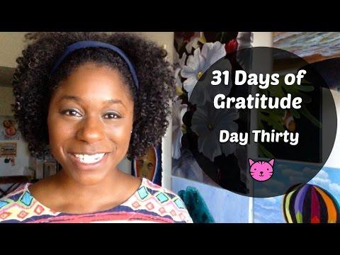 31Days of Gratitude - Day Thirty