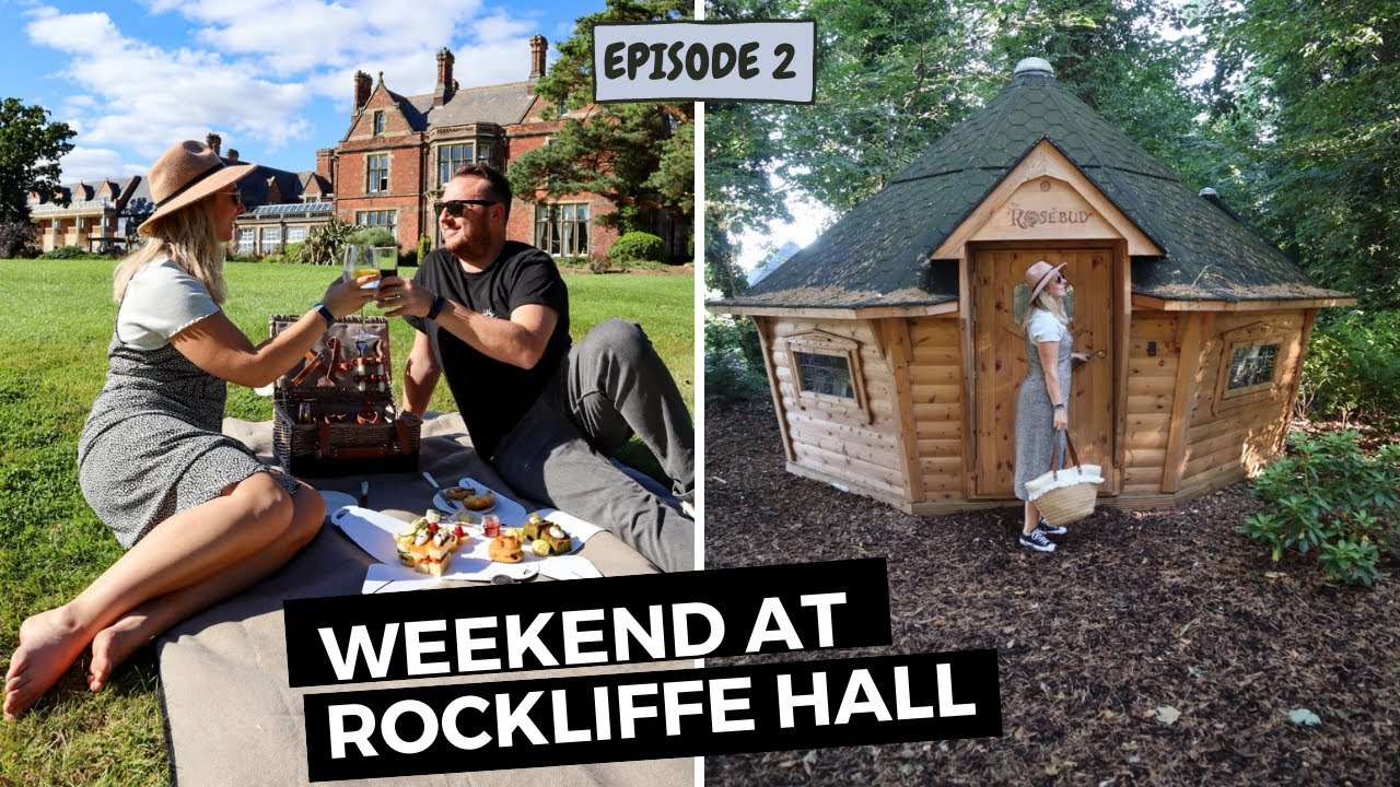 UK ROAD TRIP | 5* LUXURY at Rockliffe Hall Ep. 2