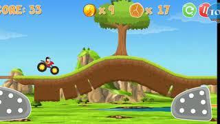 Trò chơi Nobita lái Mô tô vượt chướng ngại vật