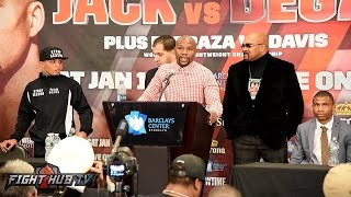 James Degale vs Badou Jack Full Post Fight Press Conference hosted by Floyd Mayweather