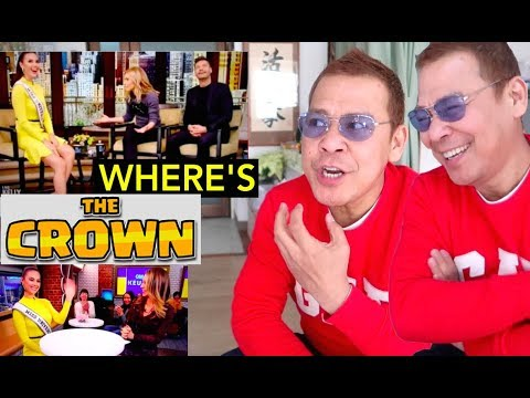 CATRIONA GRAY Interview REACTION🌎SIOWPAO & The Missing Crown!!