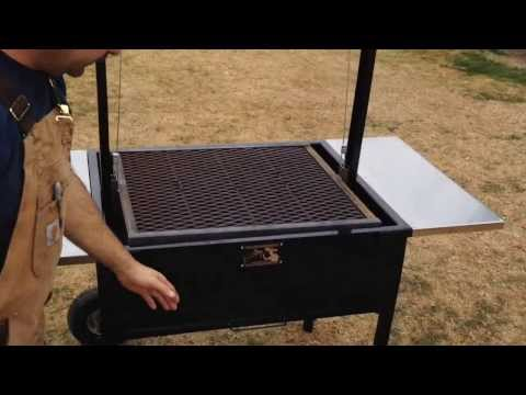 Argentine v grate grills santa maria style grills and - Parrillas para asar ...