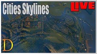 """Cities Skylines """"DOCITY"""" - modowane oczywiście."""