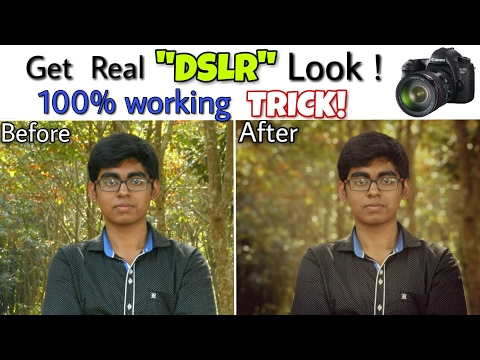 How to change any Android device into a DSLR Camera 📷 | NO ROOT | Exclusive 2017| SUPER PHOTOGRAPHY