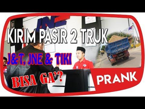PRANK  KIRIM PASIR 2 TRUK KE JNE,TIKI dan JNT. BISA GA?