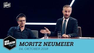 Moritz Neumeier zu Gast im Neo Magazin Royale Dresden Edition mit Jan Böhmermann - ZDFneo