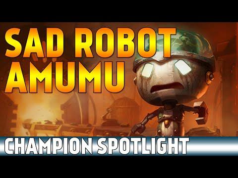 Sad Robot Amumu | Skin Spotlight