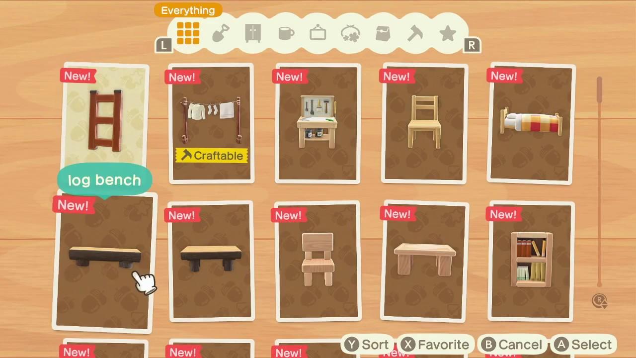 Animal Crossing New Horizons Ladder Diy