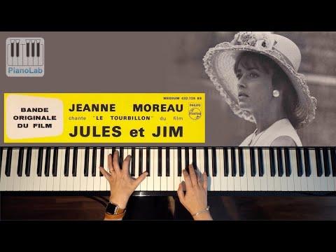Le tourbillon de la vie - Jeanne Moreau - Piano cover