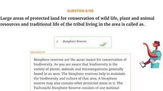 Conservation of Plants and Animals ,Video quiz, CBSE/NCERT 8th Standard, Science.