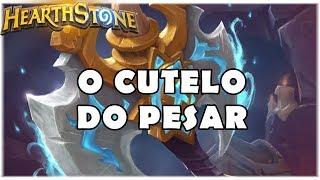HEARTHSTONE - O CUTELO DO PESAR! (STANDARD RECRUIT WARRIOR)