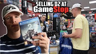 SELLING DESTINY 2 AT GAMESTOP!!