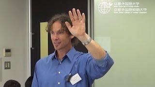 京都外大2014年度オープンキャンパスで行われた英米語学科・キャリア英...