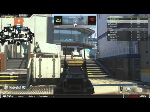 OpTic Gaming Vs FaZe - Game 1 - Series 1 - Grand Finals - MLG Columbus Open