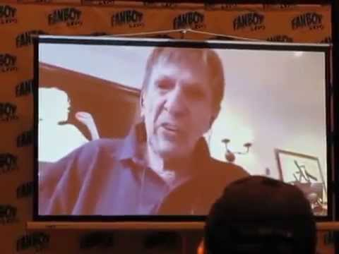 Leonard Nimoy Skype to Fanboy Expo Knoxville 2014