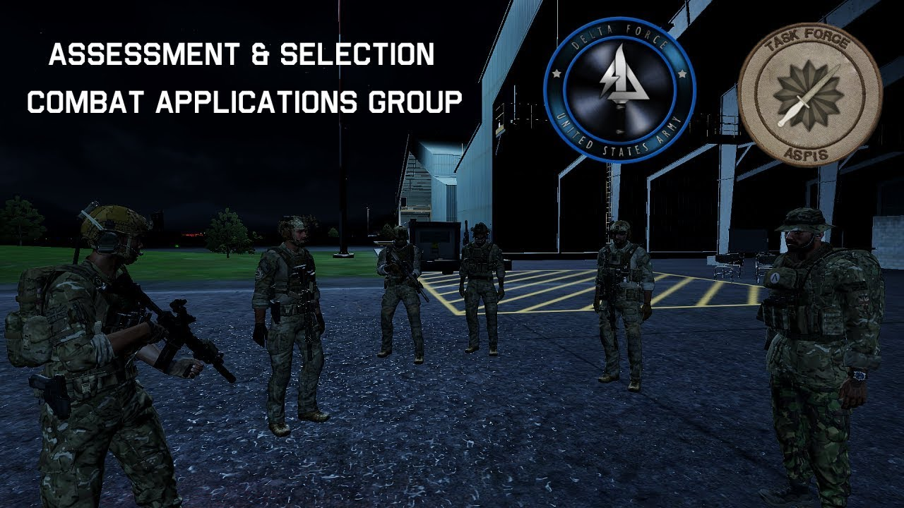 Task Force Aspis - Assessment and Selection - CAG [Arma 3 Milsim]