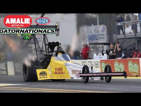2018 NHRA Gatornationals   Top Fuel Eliminations