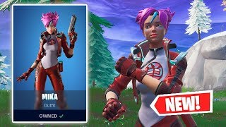 NOUVEAU MIKA Skin Gameplay à Fortnite!