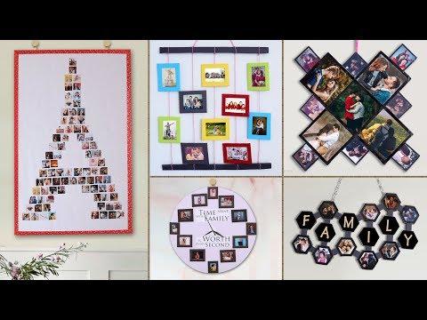 WOW !!! 10 DIY Unique Photo Frame Ideas || Handmade Things
