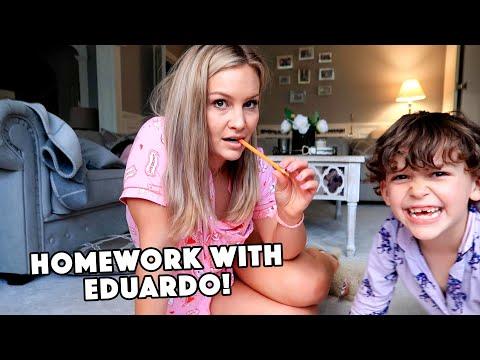 Homework with Eduardo!
