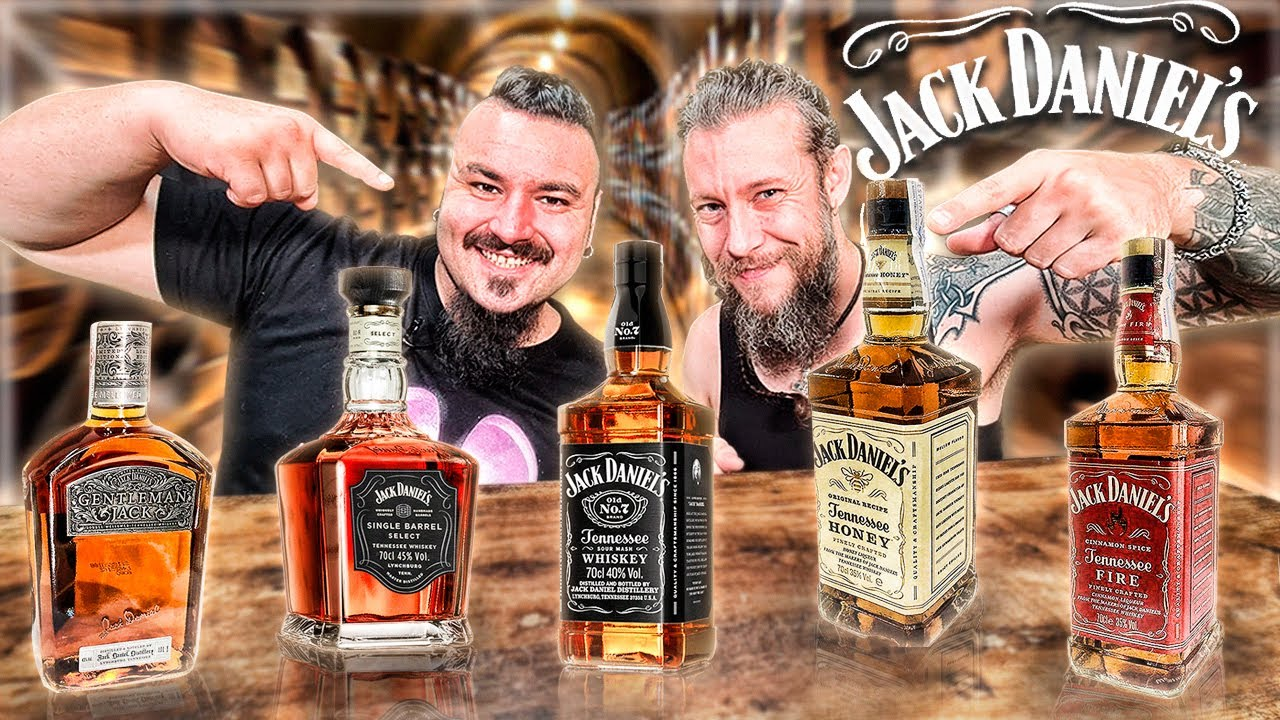 Probando JACK DANIEL´S  el WHISKEY MÁS FAMOSO DEL MUNDO con el VIKINGO ¿Cuál estará mejor? 🔥