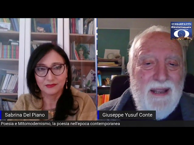 Giuseppe Yusuf Conte intervistato per Oraquadra - Secondo appuntamento: Poesia e Contemporaneo