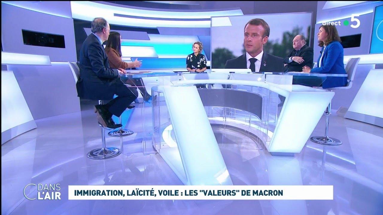 Immigration Laïcité Voile Les Valeurs De Macron Cdanslair 31 10 2019 Youtube