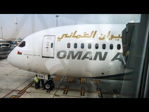 TRIP REPORT | Oman Air | Boeing 787-8 Dreamliner | Muscat - Bangkok | Economy Class