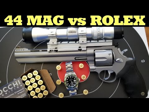 Taurus 44 Magnum Review | 44 MAG vs ROLEX