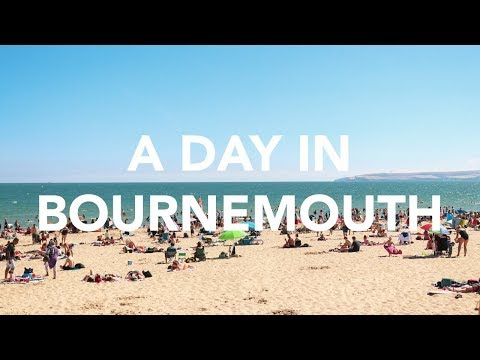 A Day in Bournemouth   London Vlog