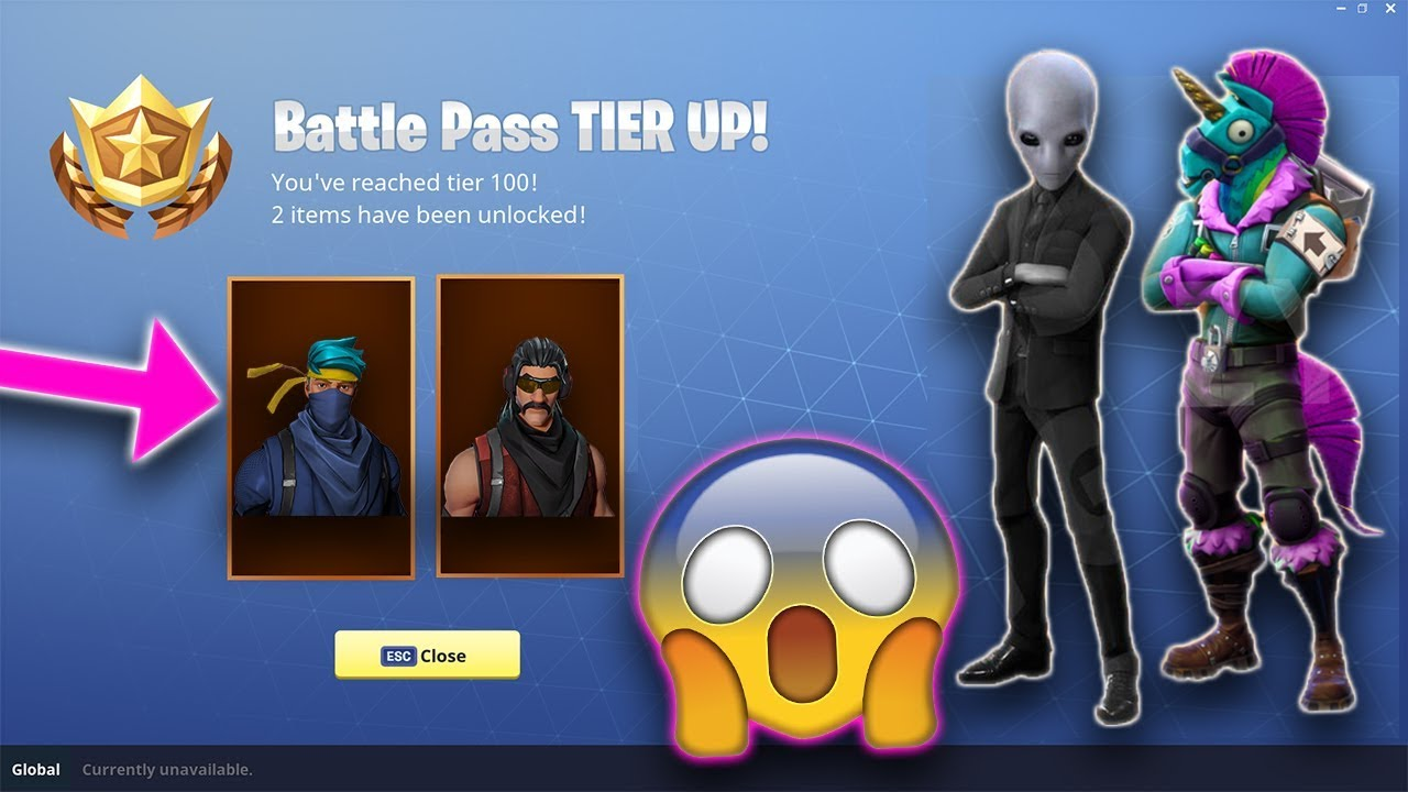 *NEW* Fortnite SEASON 4 BATTLE PASS REVEALED! Skins, Theme ...