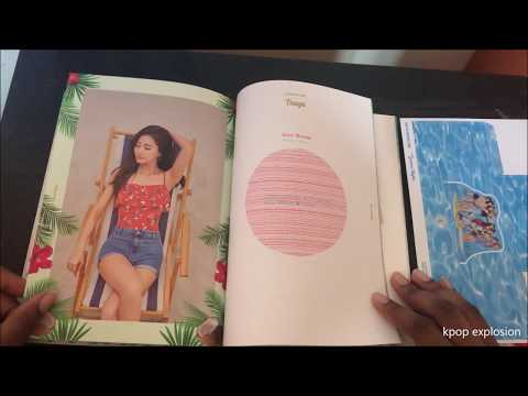[UNBOXING] TWICE 2ND SPECIAL ALBUM SUMMER NIGHTS