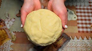 Идеальное Песочное тесто для Печенья и Пирогов. Мой самый любимый рецепт