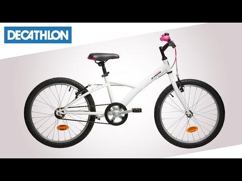 Bici Da Bambina 20 Mistigirl 300 Btwin Decathlon Italia Youtube