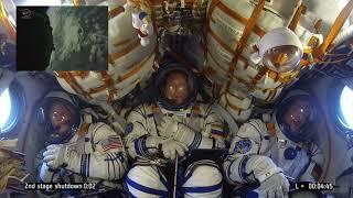 Le lancement complet du Soyouz MS-09: Du décollage à l