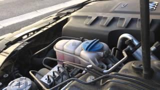 Bruit suspect sous capot Audi A4B8 2L TDI