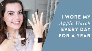 I Wore My APPLE WATCH Every Day for a YEAR | Smart Watch for Business, Weight Loss and Health