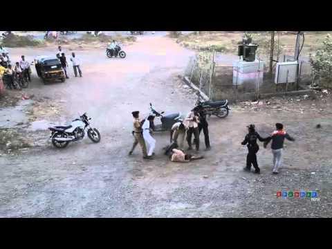 Solapur City Police Fighting
