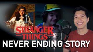 Never Ending Story (Dustin Part Only - Instrumental) - Stranger Things OST