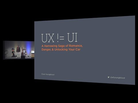 UX != UI -- A Harrowing Saga of Romance, Danger, and Unlocking Your Car