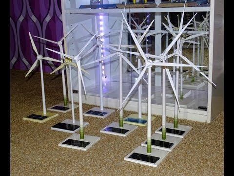 Enercon Windrad Modell Sammlung, Solar E-40, E-66, E-70, E-82, E-138 Wind Turbine Model Collection