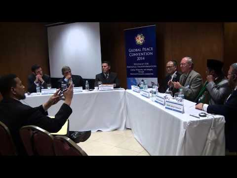 Global Peace Convention: Interfaith Panel I